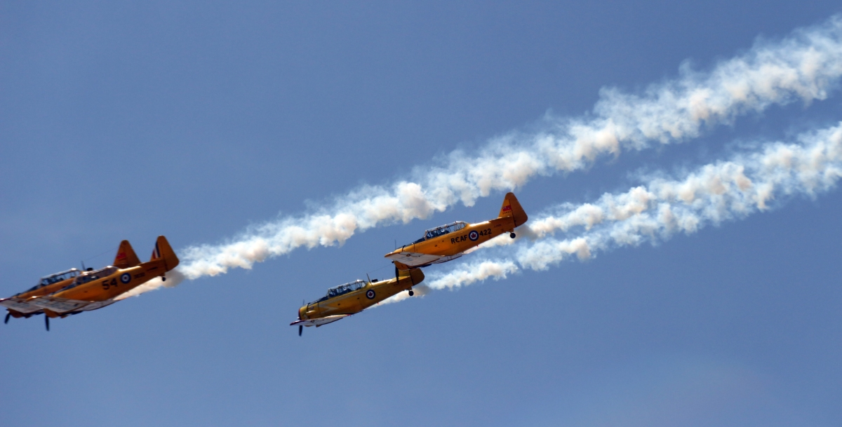 Harvards with smoke