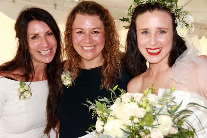 Mom Sharon, Aunt Michelle, & Tegan