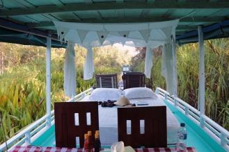 The upper deck