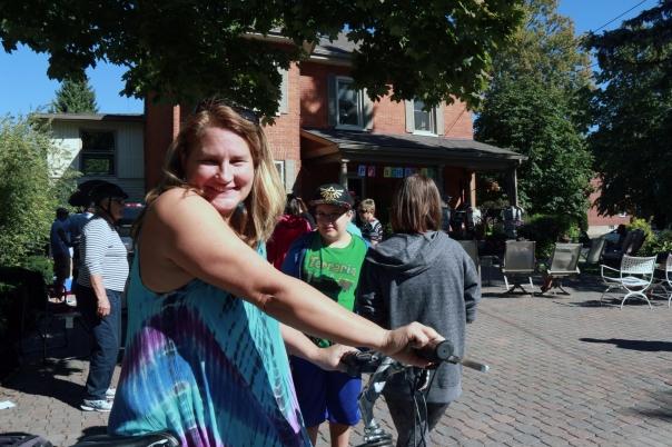 Rotarian Tracy Bray - Bleecker Avenue Porchfest