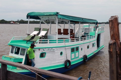 Borneo Eco Tour boat