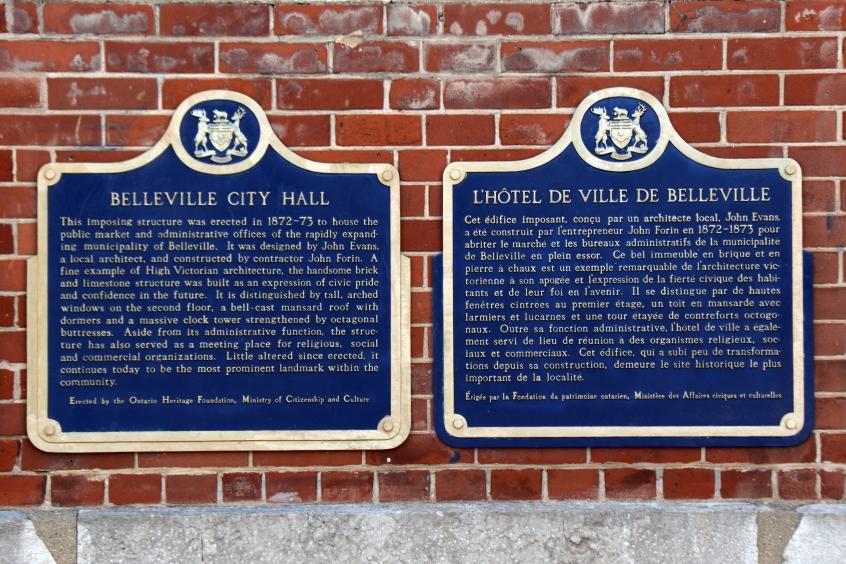 History of Belleville City Hall En-Fr