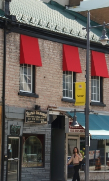 Village Goldsmith & Red Awnings