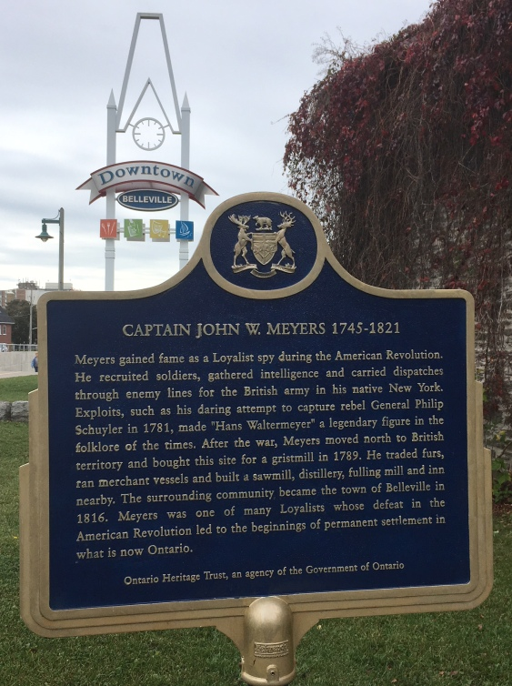 Capt. JW Meyers Historic Plaque