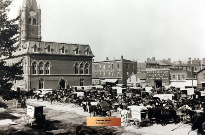 Belleville City Hall & Farmers' Market