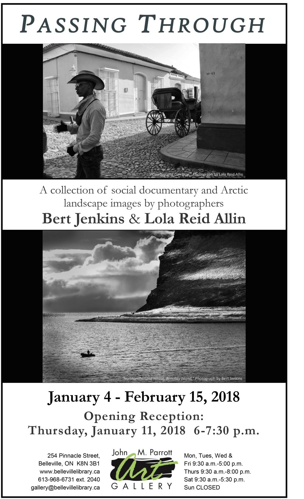 Bert Jenkins-Lola Reid Allin Jan 2018