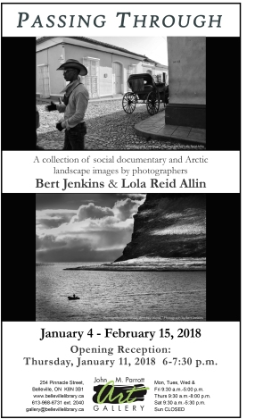 Photography Show & Sale Jan 4 - February 15, 2018