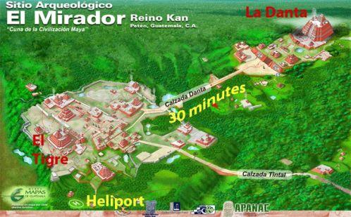 El Mirador Map