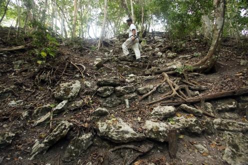 El Mirador, Adrain Centeno, El Tigre summit steps