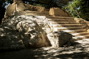 El Mirador- Structure 34- The Jaguar Paw Temple