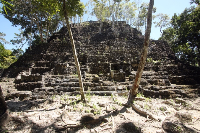 El Mirador- La Danta - one of the Triadic Summit structures