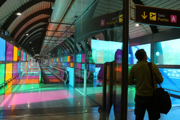 MAD Passages, Madrid Airport, Spain
