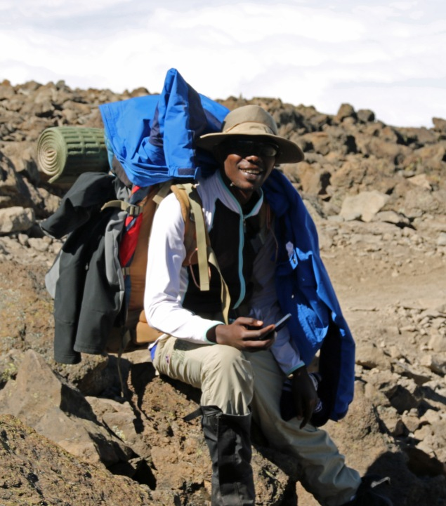 Assistant Guide Nelson Nanyare