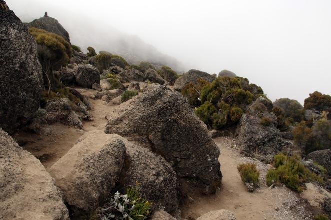 Descent into Karanga Valley