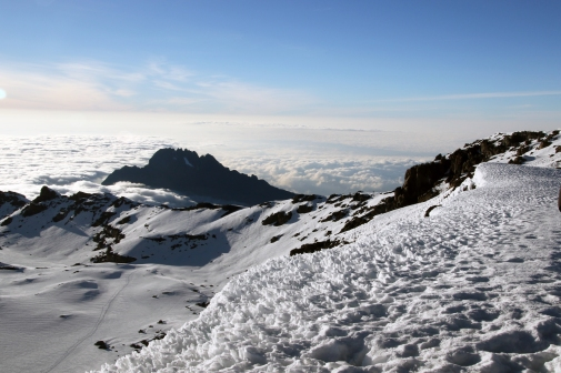 Into the crater, Kilimanjaro Panorama