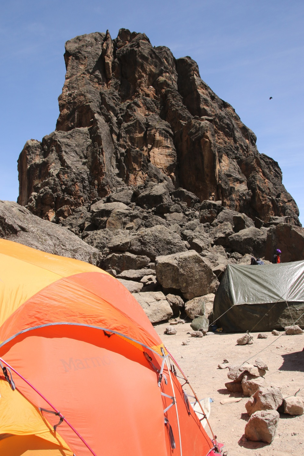 Lunch at Lava Tower Camp