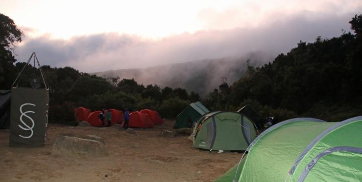 Machame Campsite