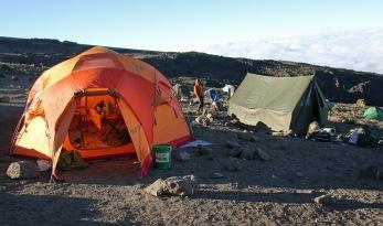 Mess tent & kitchen tent