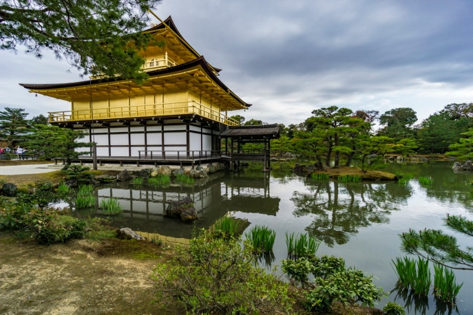 Golden Pavilion, Kinkaku-ji Temple_Googe