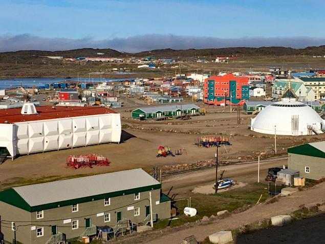 Iqaluit viewed from Frobisher Inn