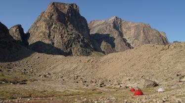 "Windy Lake Moraine ""Camp"""
